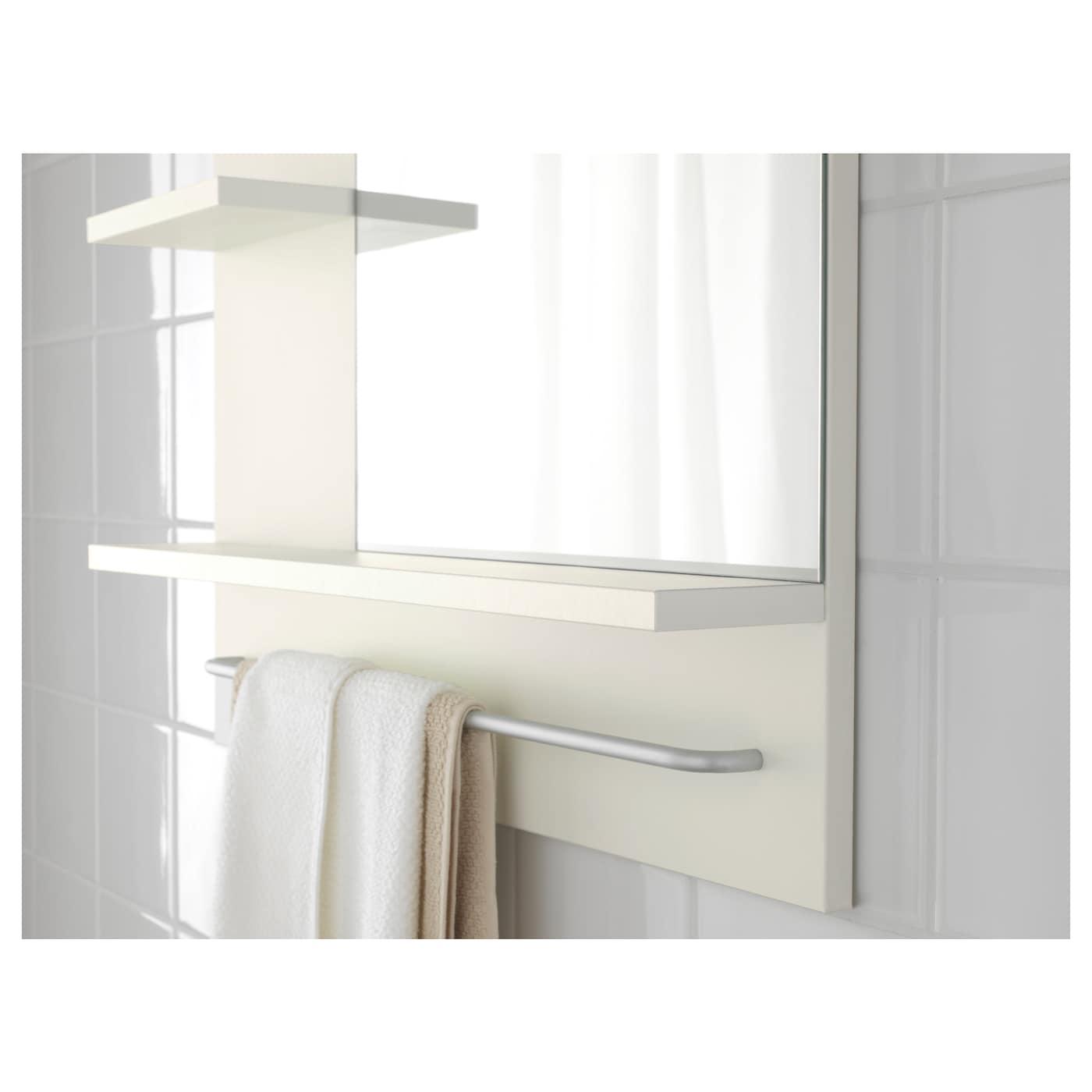 Lill ngen miroir blanc 60x11x78 cm ikea for Miroir blanc ikea