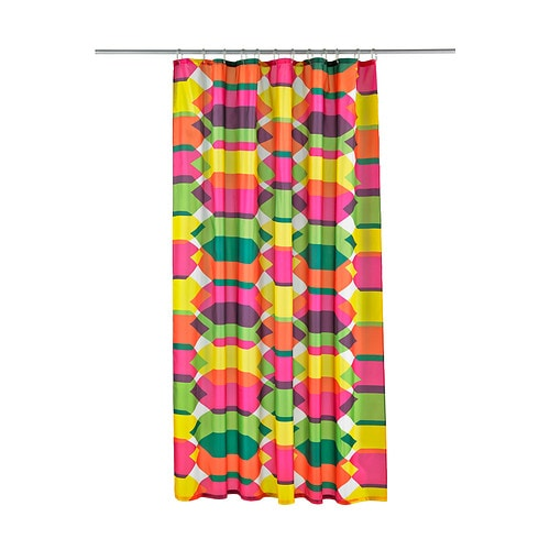 lillskr rideau de douche ikea polyester tiss serr avec revtement impermable - Rideau De Douche Color