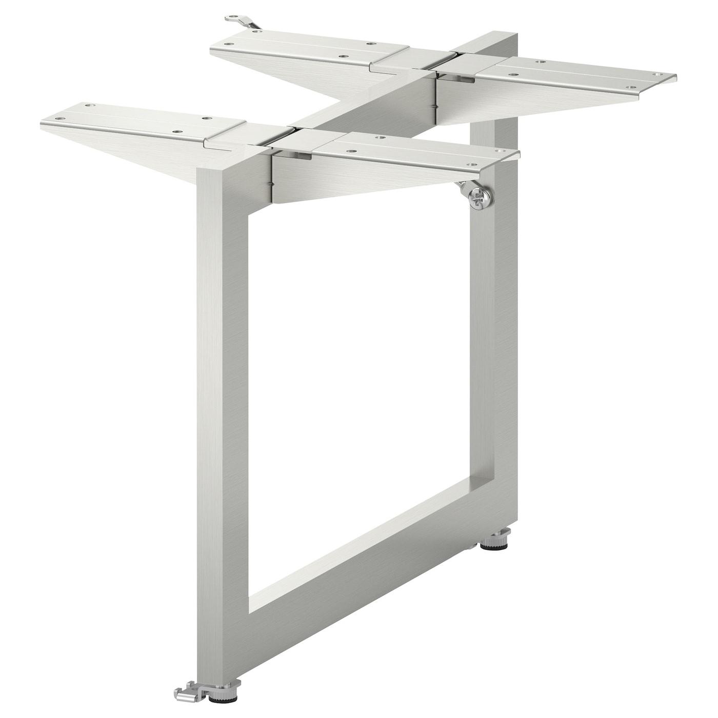 limhamn-pied-de-soutien-acier-inoxydable__0192338_pe346951_s5 Incroyable De Table Basse Ikea Avec Tiroir Concept
