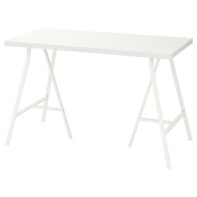 LINNMON / LERBERG table blanc 120 cm 60 cm 74 cm 50 kg