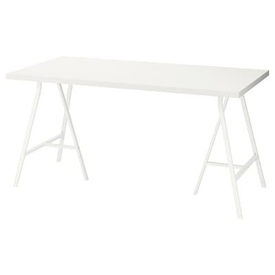 LINNMON / LERBERG table blanc 150 cm 75 cm 74 cm 50 kg