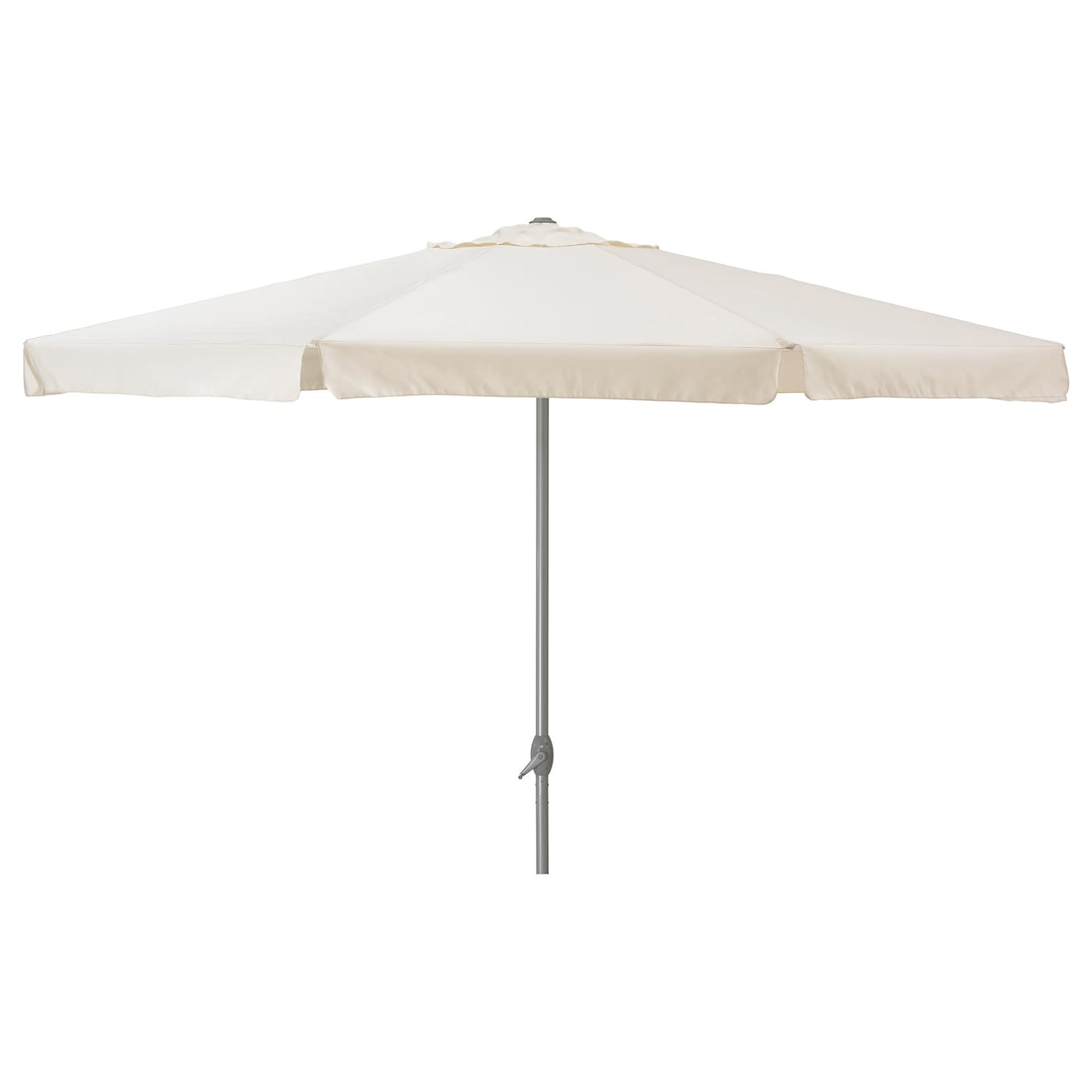 ljuster parasol beige 400 cm ikea. Black Bedroom Furniture Sets. Home Design Ideas