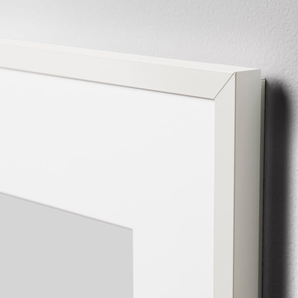 LOMVIKEN Cadre, blanc, 30x40 cm