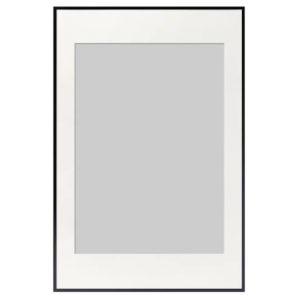 LOMVIKEN Cadre, noir, 61x91 cm