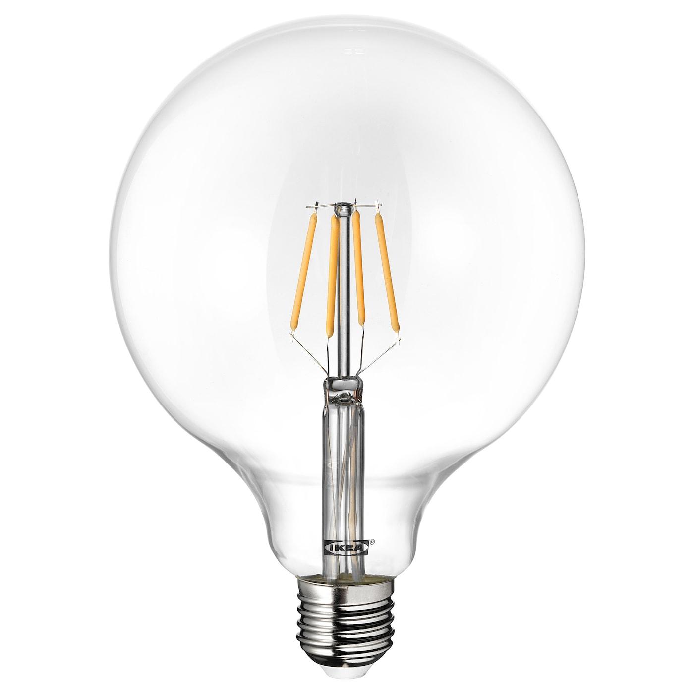 LUNNOM Ampoule LED E27 600 lumen Globe verre transparent