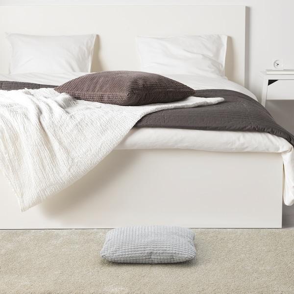 LURVIG Coussin, gris clair, 33x38 cm