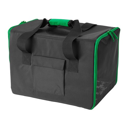 lurvig sac de voyage pour animaux noir ikea. Black Bedroom Furniture Sets. Home Design Ideas