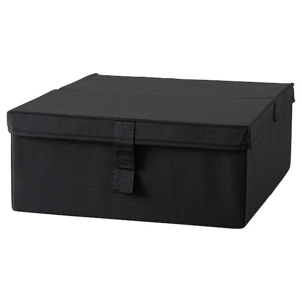 LYCKSELE Rangement pour fauteuil convertible - noir - IKEA