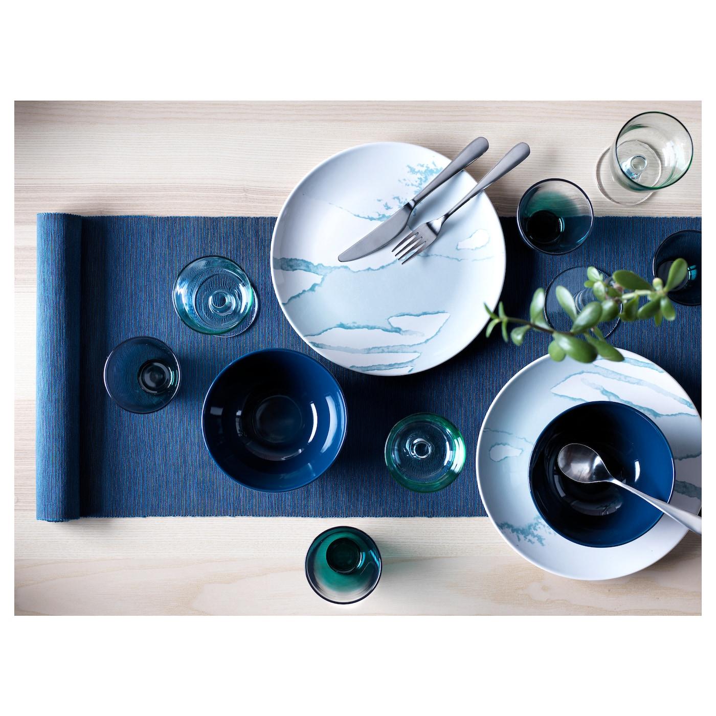 m rit chemin de table bleu fonc 35x130 cm ikea. Black Bedroom Furniture Sets. Home Design Ideas