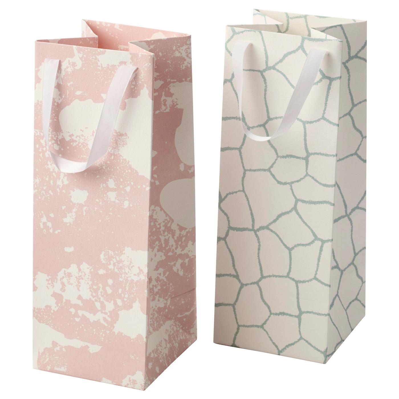 m ngfald sac cadeau motifs divers 12x32 cm ikea. Black Bedroom Furniture Sets. Home Design Ideas