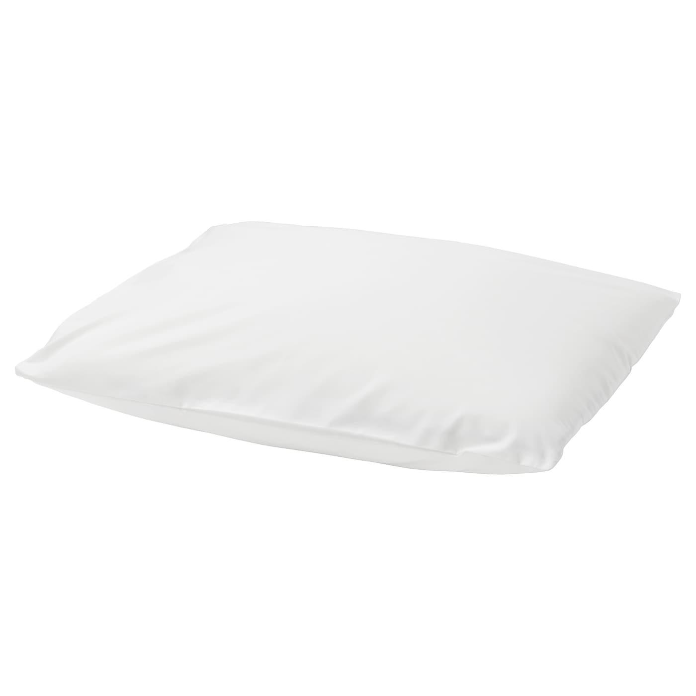 m nviva taie oreiller m moire de forme blanc 40 x 50 cm ikea. Black Bedroom Furniture Sets. Home Design Ideas