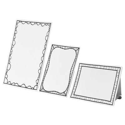 MÅLA Cartons à dessin encadrés