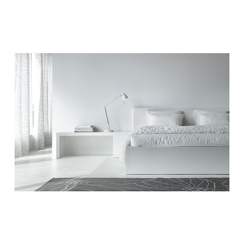 malm cadre de lit bas 160x200 cm leirsund ikea. Black Bedroom Furniture Sets. Home Design Ideas