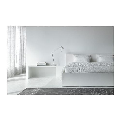 malm cadre de lit bas 160x200 cm leirsund ikea. Black Bedroom Furniture Sets. Home Design Ideas