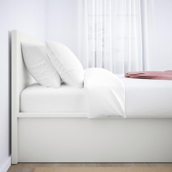 MALM Cadre lit coffre, blanc, 140x200 cm