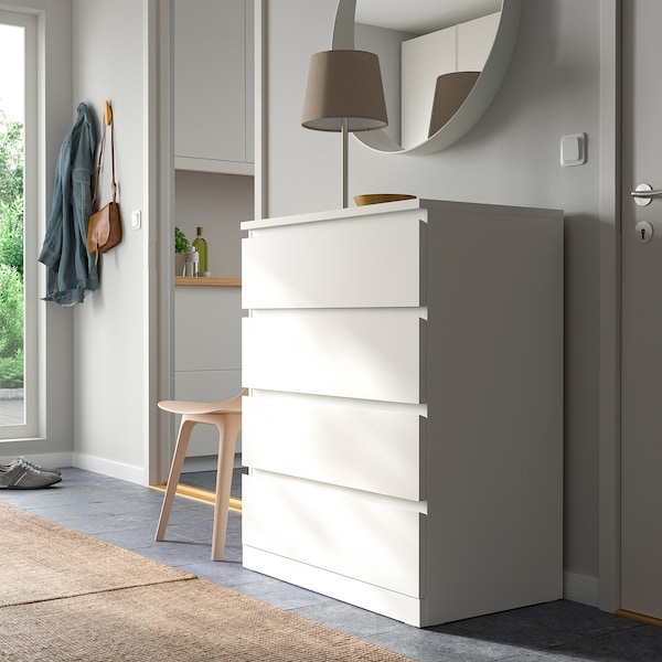 IKEA MALM Commode 4 tiroirs
