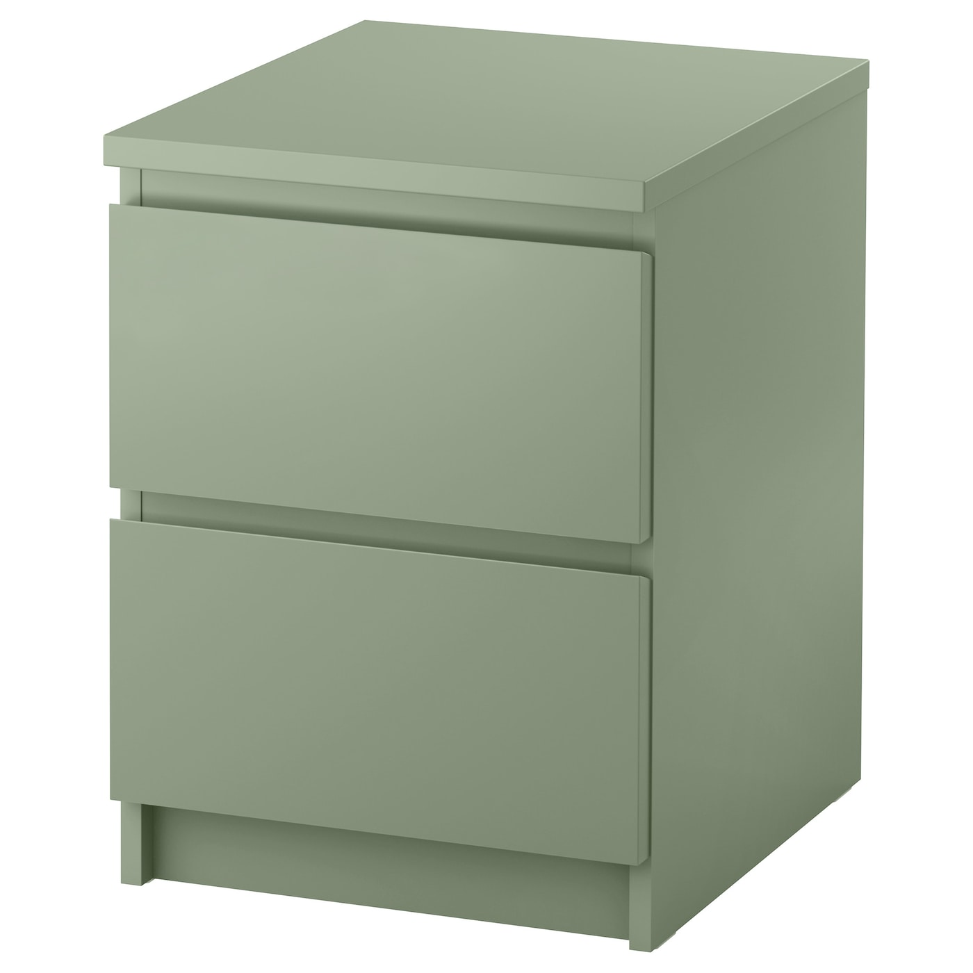 malm commode 2 tiroirs vert clair 40x55 cm ikea. Black Bedroom Furniture Sets. Home Design Ideas