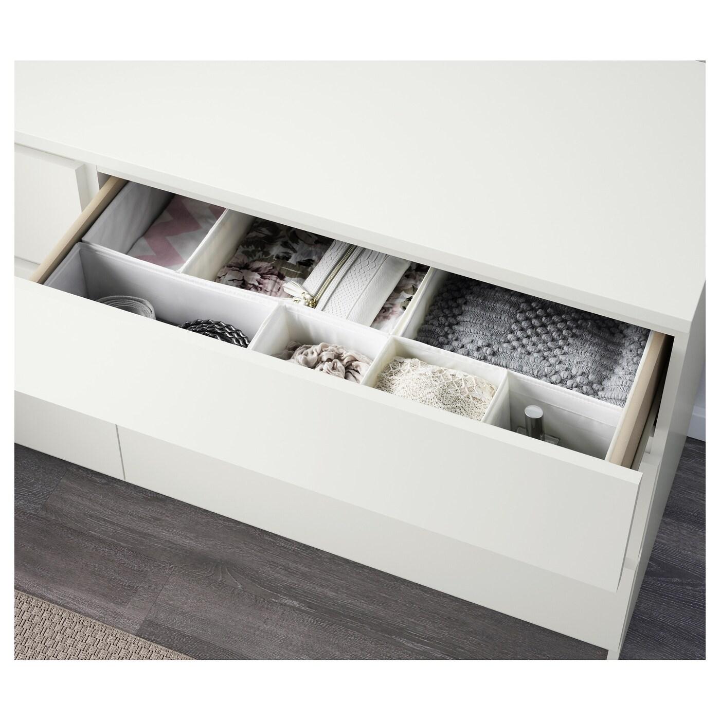 Malm commode 6 tiroirs blanc 160x78 cm ikea - Commode ikea malm 6 tiroirs occasion ...