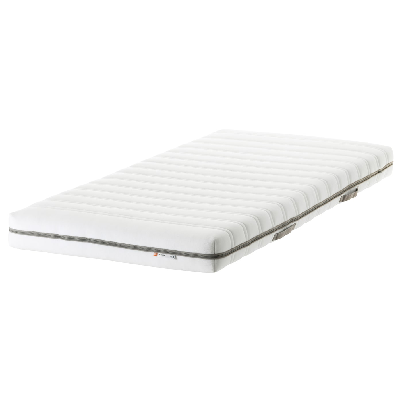 malvik matelas en mousse ferme blanc 80x200 cm ikea. Black Bedroom Furniture Sets. Home Design Ideas