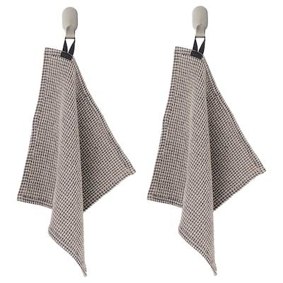 MARIATHERES Lavette, gris/beige, 30x30 cm