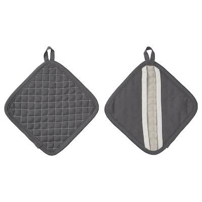 MARIATHERES Manique, gris/beige, 19x19 cm