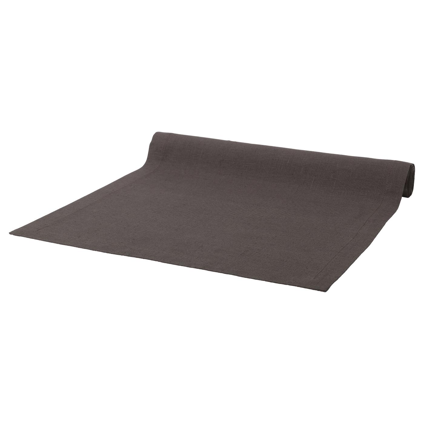marknad chemin de table noir 40x140 cm ikea. Black Bedroom Furniture Sets. Home Design Ideas
