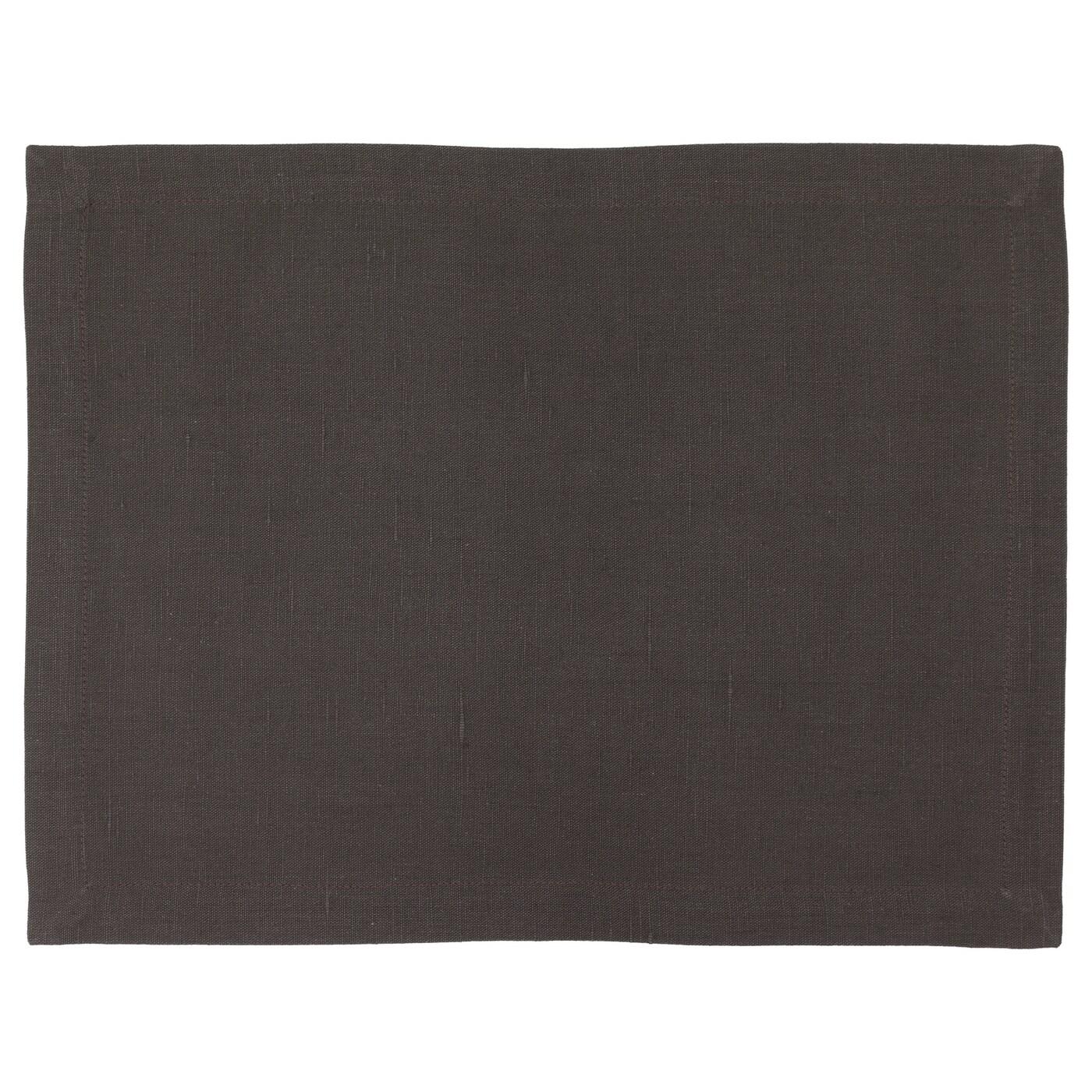 marknad set de table noir 45x35 cm ikea. Black Bedroom Furniture Sets. Home Design Ideas