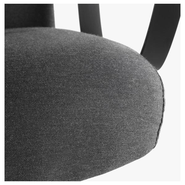 MARKUS chaise de bureau Vissle gris foncé 110 kg 62 cm 60 cm 129 cm 140 cm 53 cm 47 cm 46 cm 57 cm