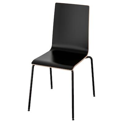 MARTIN Chaise, noir/noir