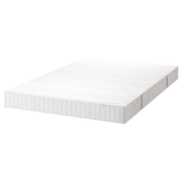 MATRAND Matelas en mousse mémoire de forme, ferme/blanc, 140x200 cm