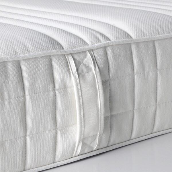 MATRAND Matelas latex, mi-ferme/blanc, 90x200 cm