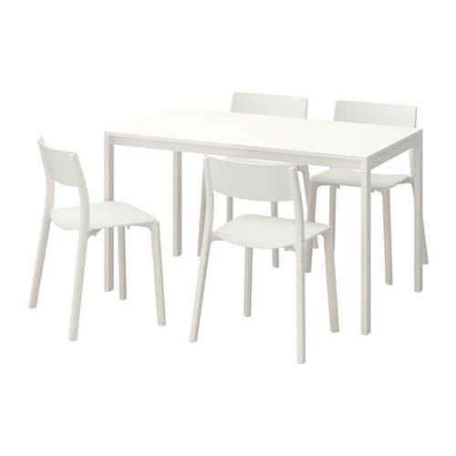 Melltorp janinge table et 4 chaises ikea - Ensemble salle a manger ikea ...