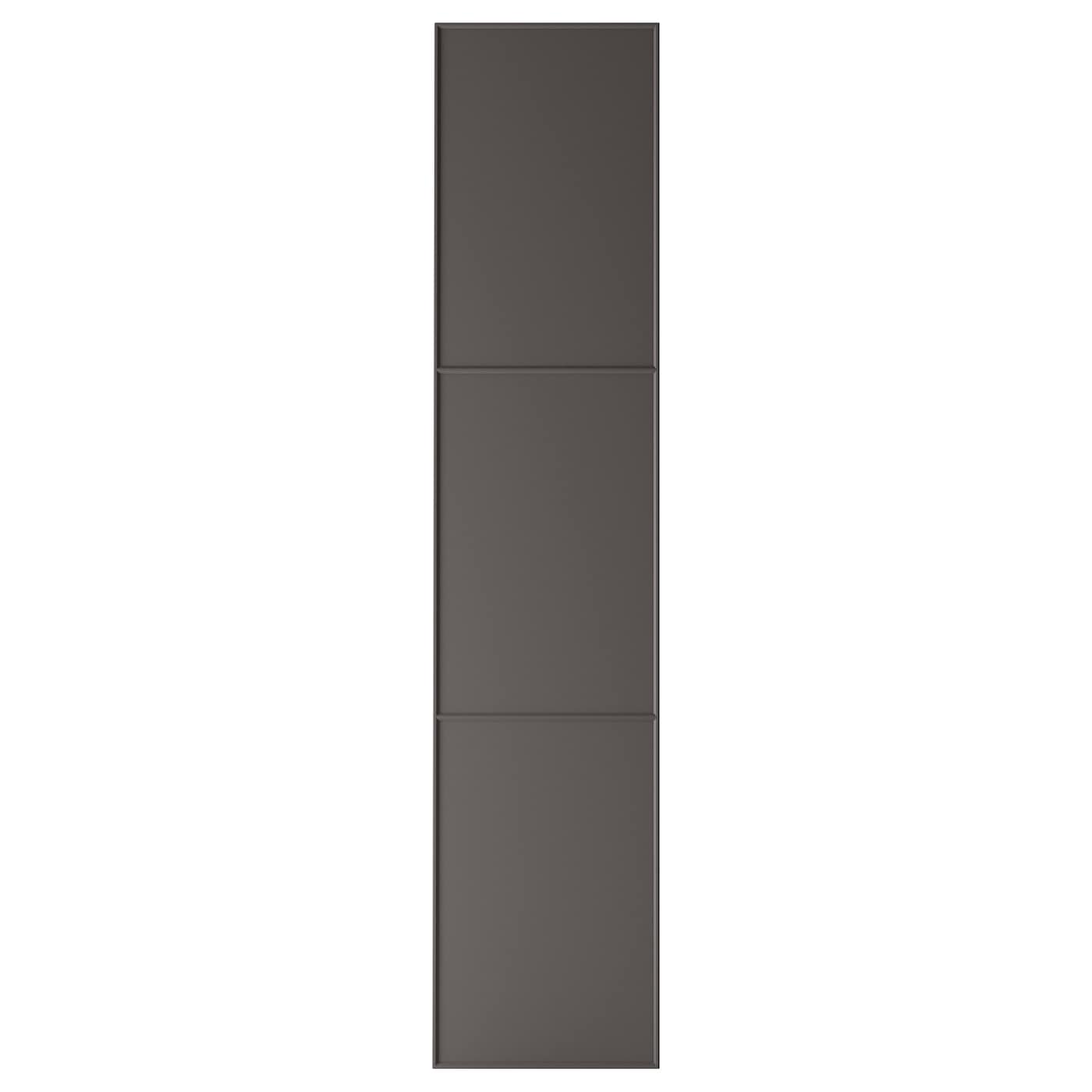 mer ker porte avec charni res gris fonc 50x229 cm ikea. Black Bedroom Furniture Sets. Home Design Ideas