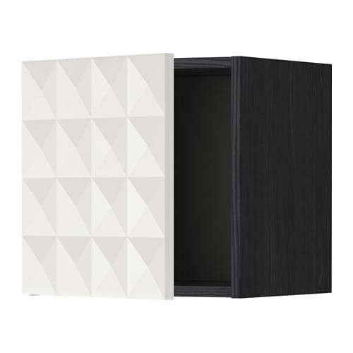 metod l ment mural noir herrestad blanc 40 x 40 cm ikea. Black Bedroom Furniture Sets. Home Design Ideas