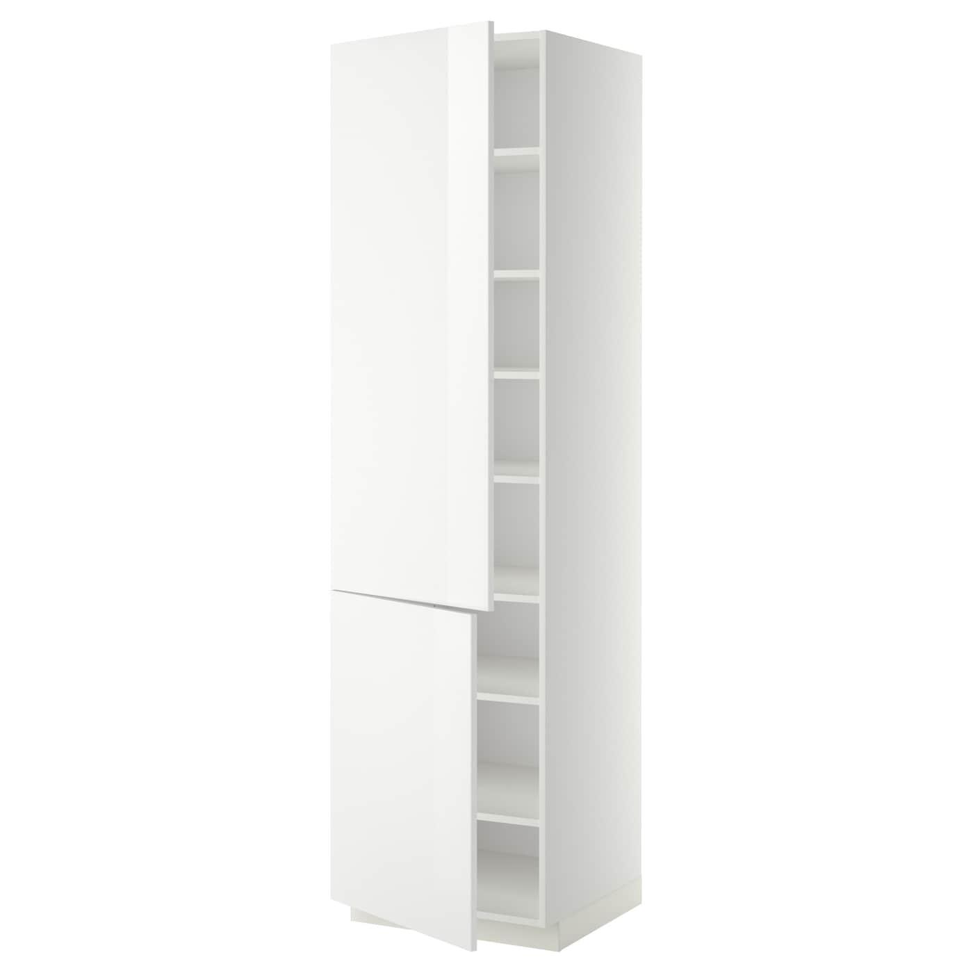 metod l ht tablette 2ptes blanc ringhult blanc 60x60x220 cm ikea. Black Bedroom Furniture Sets. Home Design Ideas