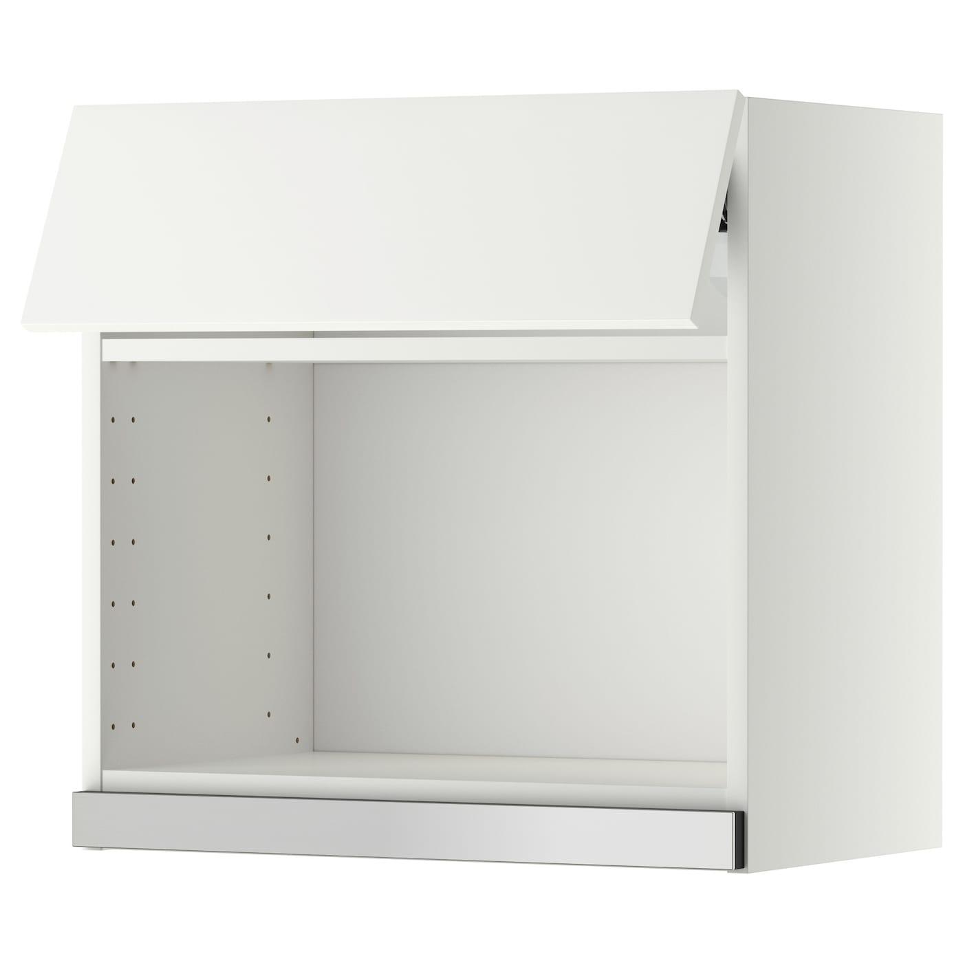 METOD Él mural pr micro-ondes Blanc/häggeby blanc 60 x 60 cm - IKEA