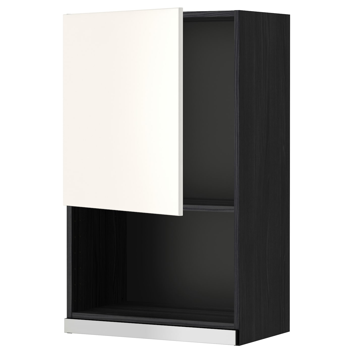 metod l mural pr micro ondes noir veddinge blanc 60x100 cm ikea. Black Bedroom Furniture Sets. Home Design Ideas