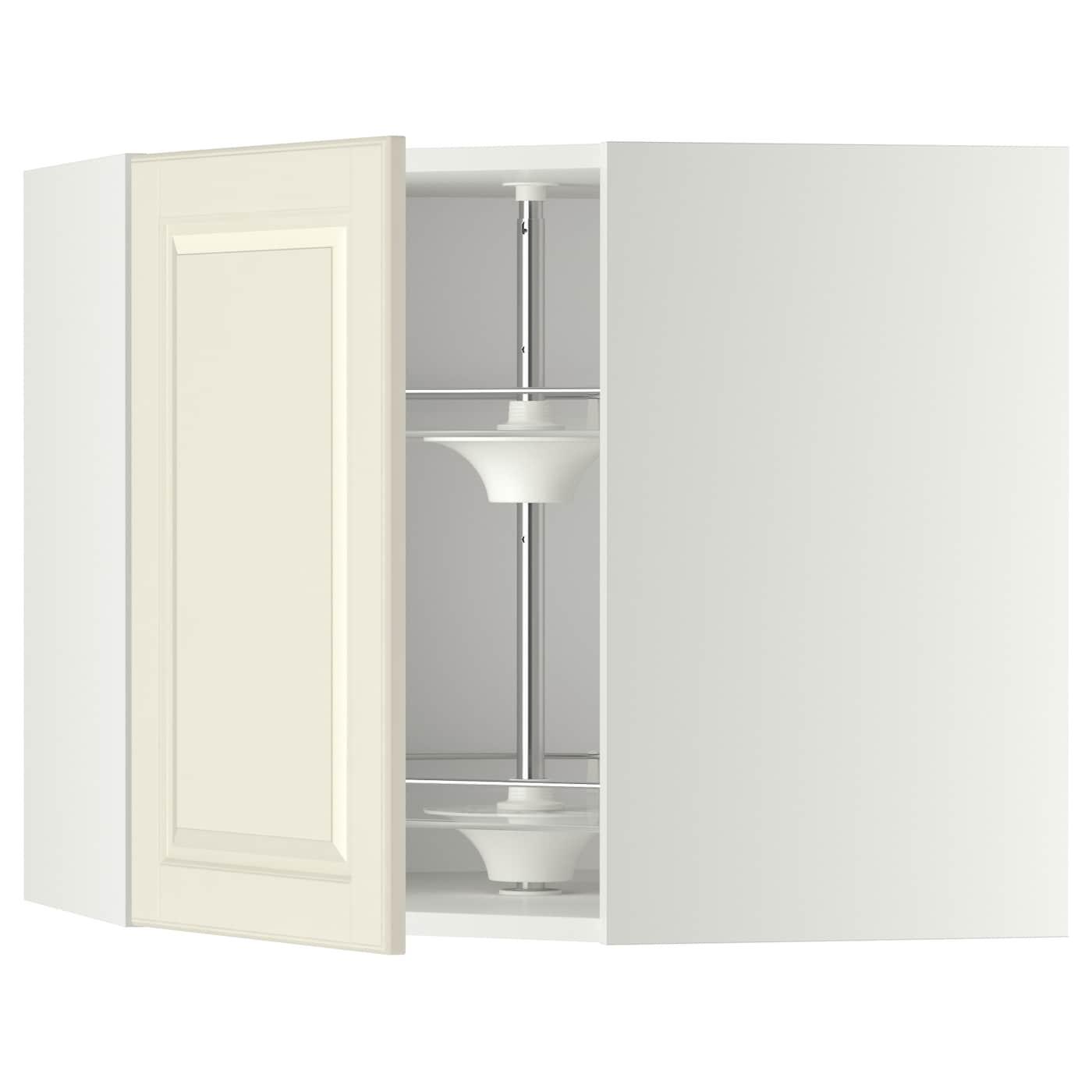 Cuisine Blanc Cassé Ikea : Metod Élt ang mur rgt pivot blanc bodbyn cassé