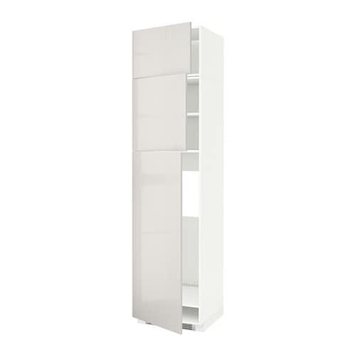metod arm r f 3ptes blanc ringhult brillant gris clair ikea. Black Bedroom Furniture Sets. Home Design Ideas