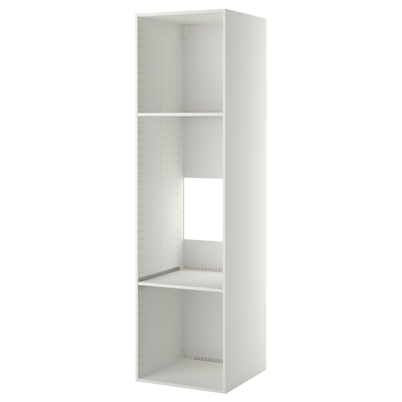 utrusta tablette fixe av grille d 39 a ration blanc 60 x 60. Black Bedroom Furniture Sets. Home Design Ideas