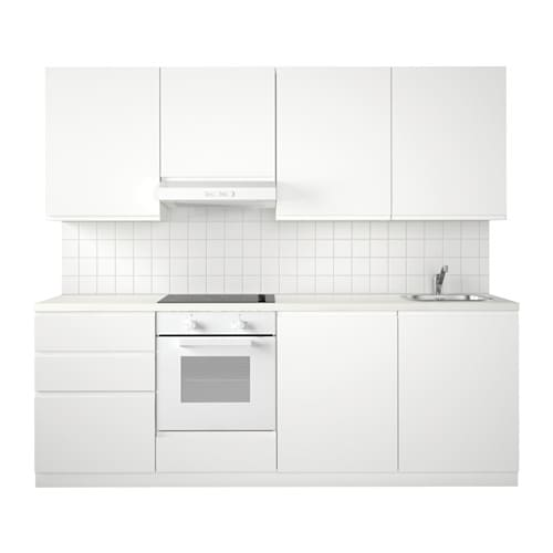 Metod cuisine voxtorp blanc ikea for Cuisine voxtorp