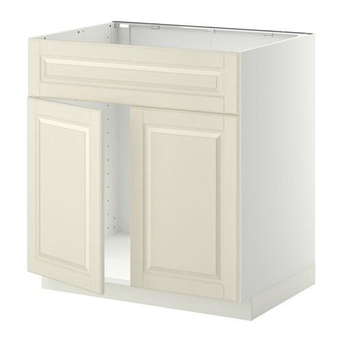 metod l bas pr vier 2ptes face blanc bodbyn blanc cass ikea. Black Bedroom Furniture Sets. Home Design Ideas