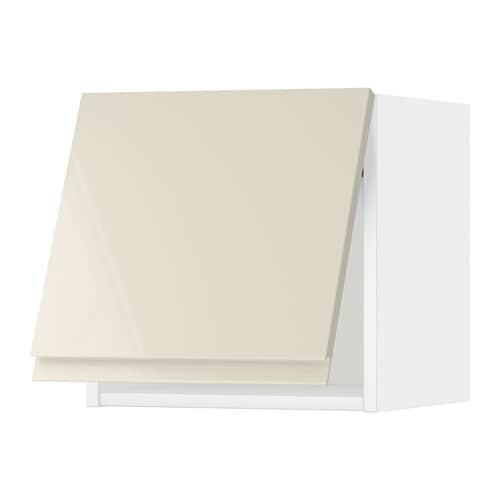 metod l mur horiz blanc voxtorp brillant beige clair 40x40 cm ikea. Black Bedroom Furniture Sets. Home Design Ideas