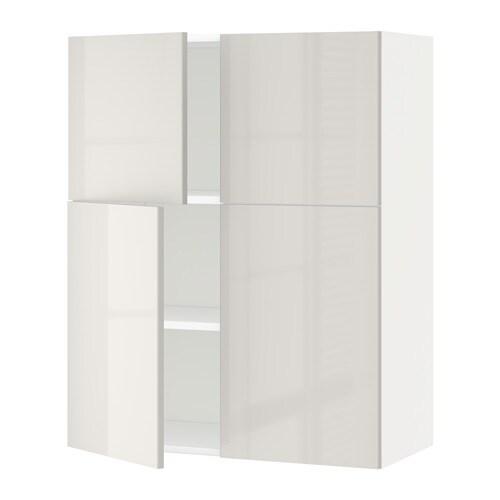 metod l mur tbs 4p blanc ringhult brillant gris clair ikea. Black Bedroom Furniture Sets. Home Design Ideas