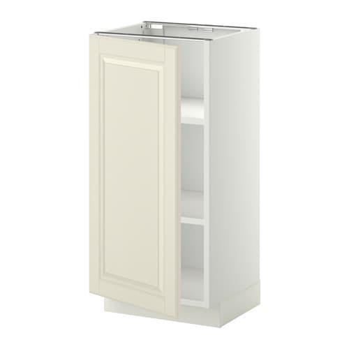 Metod L Ment Bas Avec Tablettes Blanc Bodbyn Blanc Cass 40x37 Cm Ikea