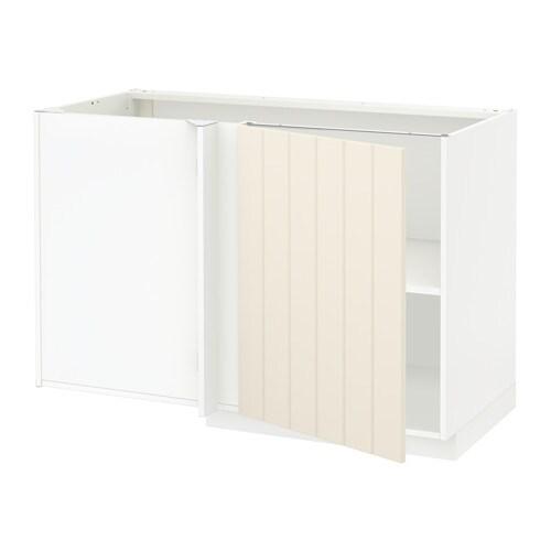 Metod L Ment Bas D 39 Angle Tablette Blanc Hittarp Blanc Cass Ikea