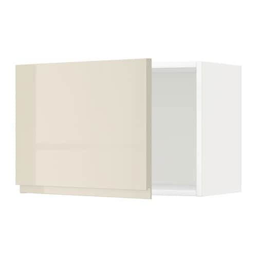metod l ment mural blanc voxtorp brillant beige clair 60x40 cm ikea. Black Bedroom Furniture Sets. Home Design Ideas