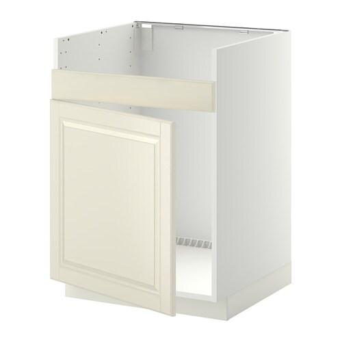 metod l ment pour vier domsj 1 bac blanc bodbyn blanc cass ikea. Black Bedroom Furniture Sets. Home Design Ideas