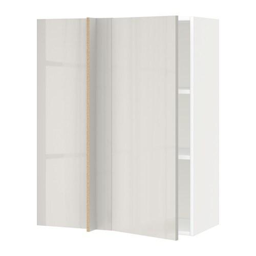 metod lt mur ang tblts blanc ringhult brillant gris clair 88x37x100 cm ikea. Black Bedroom Furniture Sets. Home Design Ideas