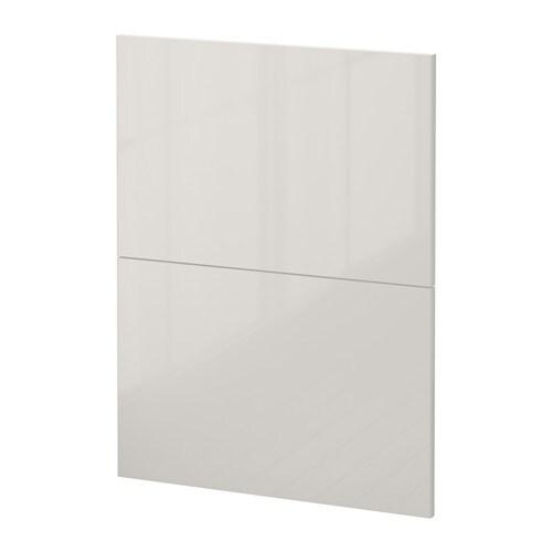 metod 2 faces pr lave vaisselle ringhult brillant gris clair ikea. Black Bedroom Furniture Sets. Home Design Ideas
